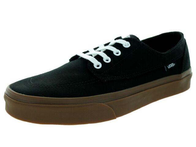 6eda1010abcc2d Vans BRIGATA Black Gumsole Casual Skateboarding VN-0ZSL9V7 (518) Men s Shoes