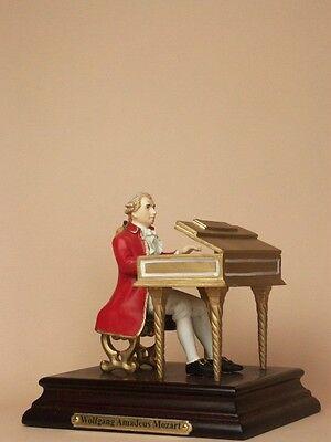 Österreich Clavecin Cembalo Mozart Sammlerstücke Figur Statue Up-To-Date-Styling Figur