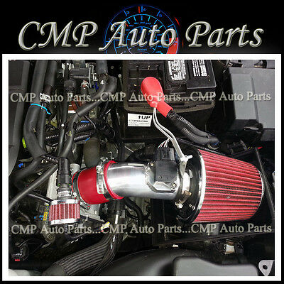 FIT:  2009-2012 MAZDA 6 2.5 2.5L DOHC L4 AIR INTAKE KIT INDUCTION SYSTEMS RED