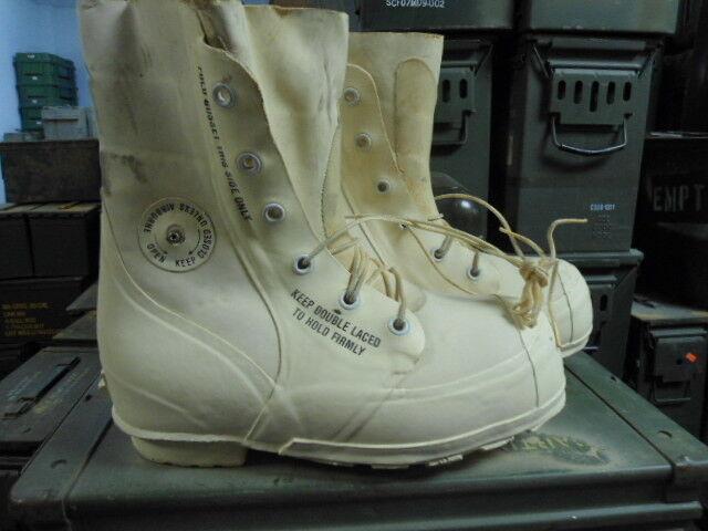 US Military blancoo Bunny botas minegro NUEVO