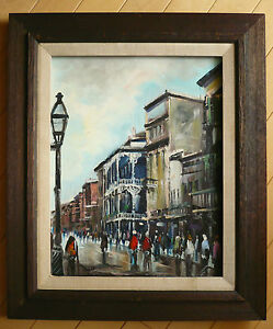 deweys arch street scene cityscape with carriages Oil painting paul cornoyer