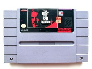The-Hunt-for-Red-October-SUPER-NINTENDO-SNES-GAME-Tested-Working-AUTHENTIC
