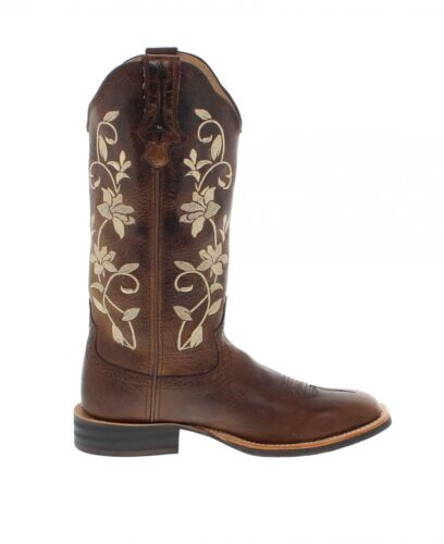 Braun X Stock Westernreitstiefel Boots Twisted Stiefel Kolf Damen 1790 K1c3TlFJ