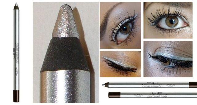 L'oreal Loreal HIP Studio Secrets Professional Color Crystal Eyeliner Silver Spa