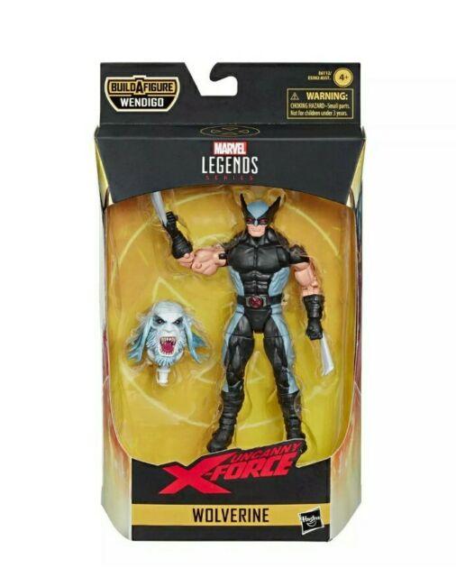 Marvel Legends X-Force wolverine - Wendigo baf Action Figure