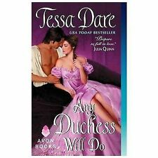 Any Duchess Will Do (Spindle Cove) by Dare, Tessa, Good Book