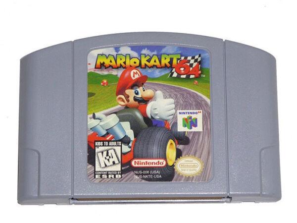 Mario Kart 64 (Nintendo 64, 1997) for sale online | eBay