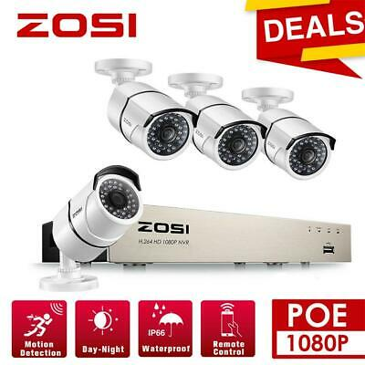 LESHP 4CH Wireless 1080P HDMI NVR CCTV Security System Wifi IP Camera Outdoor