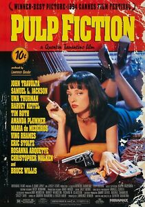 PULP-FICTION-Movie-PHOTO-Print-POSTER-Film-Art-Quentin-Tarantino-Uma-Thurman-002