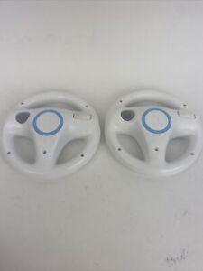 OEM-Official-Nintendo-Wii-Racing-Steering-Wheel-White-RVL-024-Mario-Kart-Lot-2