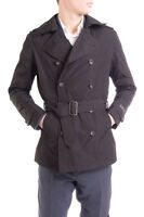 RRP €330 DIESEL Size M Men's J-BRAGG Belted Double Breasted Trench Coat - POPPRI