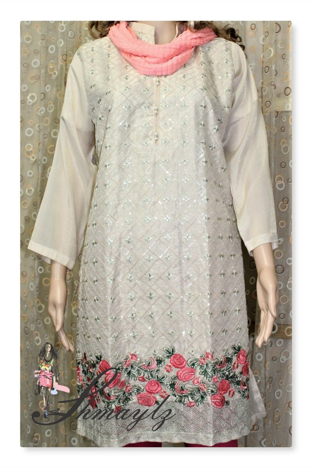 Women Clothing SHMAYLZ Collection Hand made Shirt   Top from Pakistan. Rcih Clrs