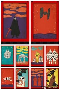 Topps-Star-Wars-Digital-Card-Trader-Red-10-Card-Vector-Space-Insert-Set
