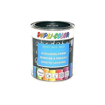 NEUHEIT Schultafel  Farbe Lack Tafellack DUPLI COLOR 750 ml. dunkelgrün Tafel