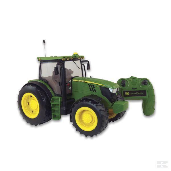 Britains Big Farm John Deere Modèle 6190R tracteur 1 16 Télécommande 3+