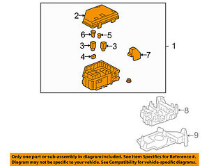 chevrolet gm oem 2010 traverse 3 6l v6 fuse box fuse relay box Chevy Equinox image is loading chevrolet gm oem 2010 traverse 3 6l v6