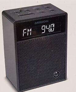 Medion-MD-47002-Steckdosenradio-Radio-Bluetooth-Bewegungssensor-Schwarz