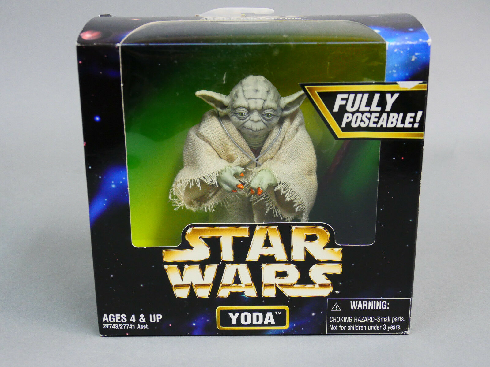 Vintage Star Wars YODA  Action Collection  6  FIGURE   rk1