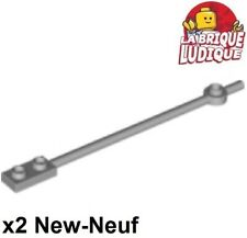 4 Pieces Per Order LEGO 99784 Pink 12L Bar With 1x2 Plate End /& Hollow Studs
