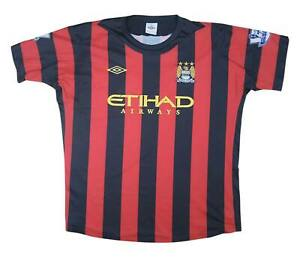 Manchester City 2011-12 Authentic away shirt camicia (OTTIMO) XXL