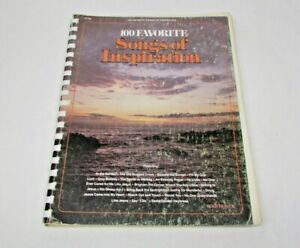 Spiral-Book-100-Favorite-Songs-of-Inspiration-by-Rode-Heaver-Sheet-music-1976