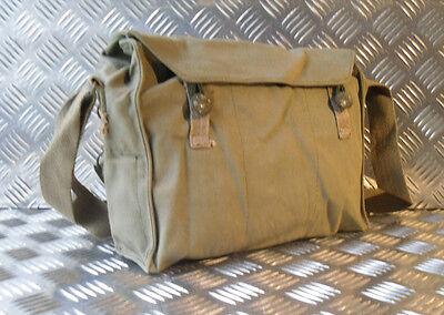 Vintage Gas Tasche Seite//Schulter// Kuriertasche G2 Original Armee