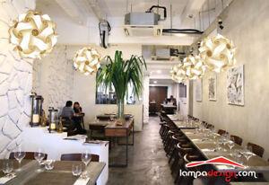 Illuminazione locali pubblici bar ristorante hotel b b design