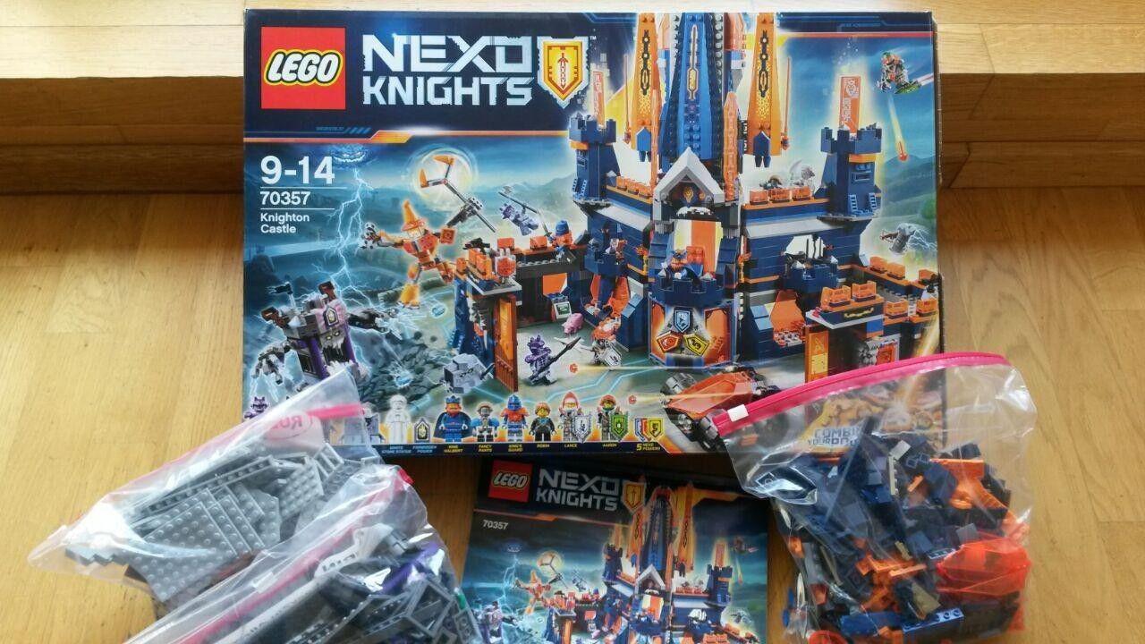 LEGO NEXO KNIGHTS Schloss Knighton (70357) gebraucht sehr gut gut gut a318be