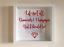 IKEA-RIBBA-Box-Frame-Personalised-Vinyl-Wall-Art-Quote-Life-isnt-all-about thumbnail 8