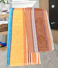 Bath Towel (Assorted Colors & Design) - Pack Of 2