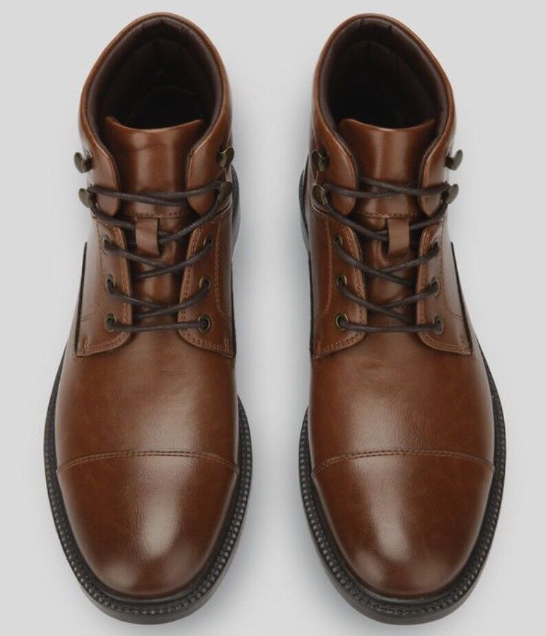 Kenneth Cole Reaction Men's Roll With It High-Top Boots.