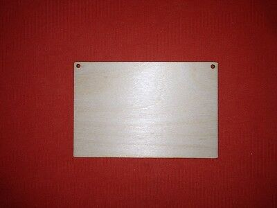 sets of PLAQUE 15 x 7  /& 4 stars PLAIN BLANK UNPAINTED WOODEN HANGING TAG