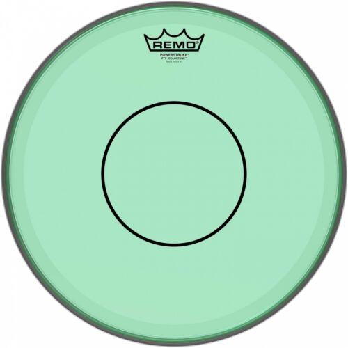 """Remo 14/"""" Powerstroke 77 Colortone Green Snare Drum Head P7-0314-CT-GN"""