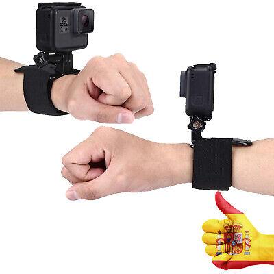 Adaptador muñeca rotacion 360º correa brazalete para Camara GoPro SJ4000 SJCAM