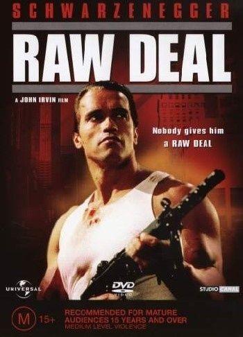 Raw Deal (DVD, 2004) Region 1, Arnold Schwarzenegger