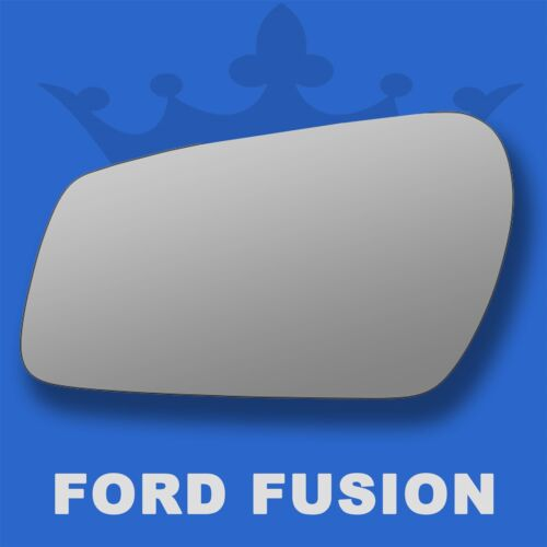 Ford Fusion wing door mirror glass 2005-2010 Left Passenger side Flat