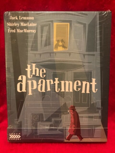 The Apartment 1960 Arrow Limited Edition Blu Ray Boxset Oop Rare