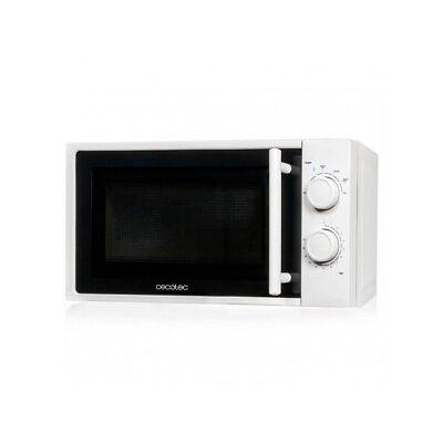 Microondas blanco 700W Cecotec 20L