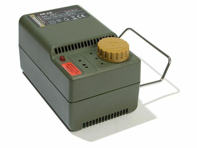 TRANSFORMATOR MIT REGLER NG 2 E PROXXON MICROMOT COD 28707
