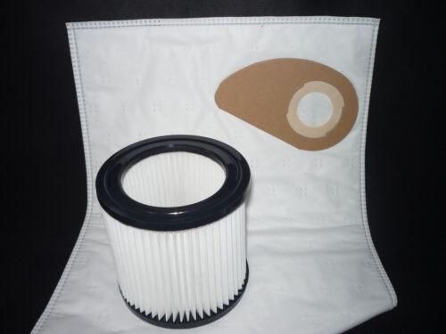 1 Filterelement geeignet für Nilfisk Wap Turbo 18 10 Staubsaugerbeutel