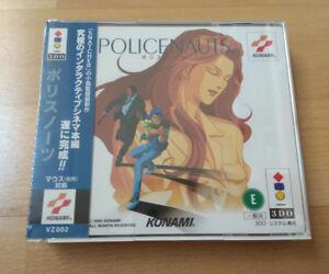 JUEGO-POLICENAUTS-PANASONIC-3DO-KOJIMA-JAPAN-SEALED-KONAMI
