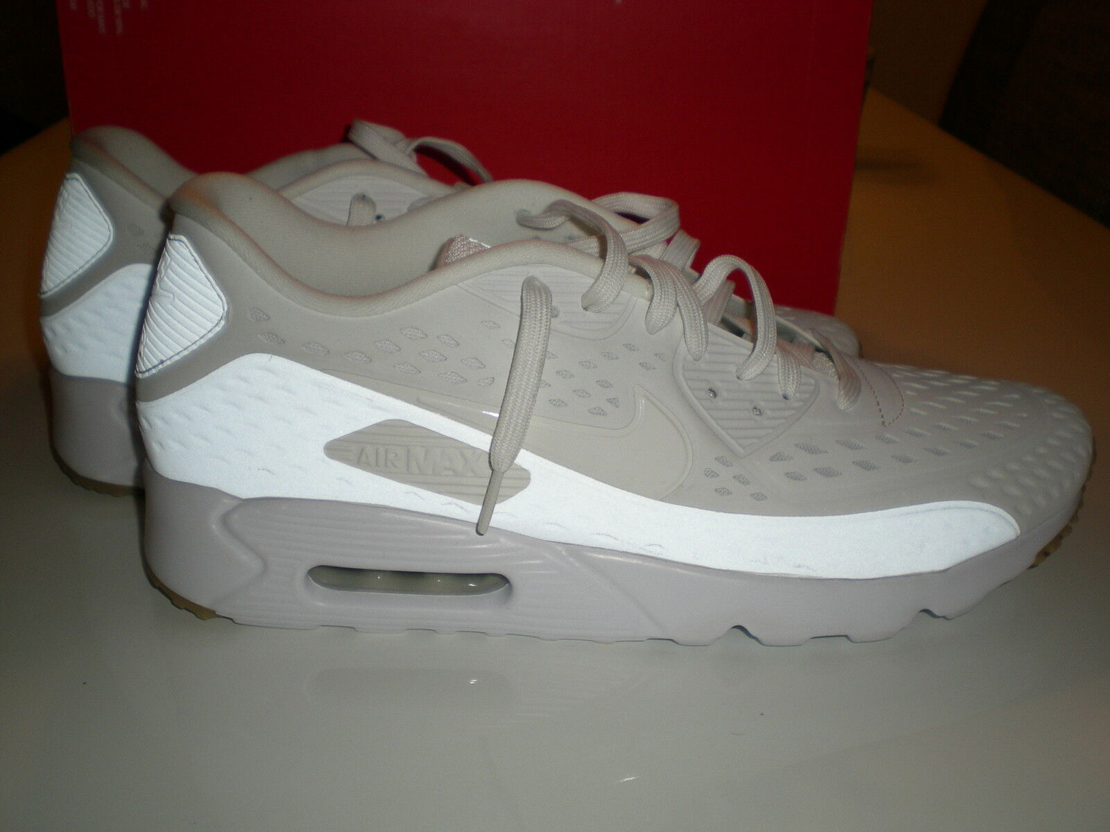 Nike Air Max 90 Ultra Schuhe EUR 48,5 Turnschuhe Sneaker weiss 725222100