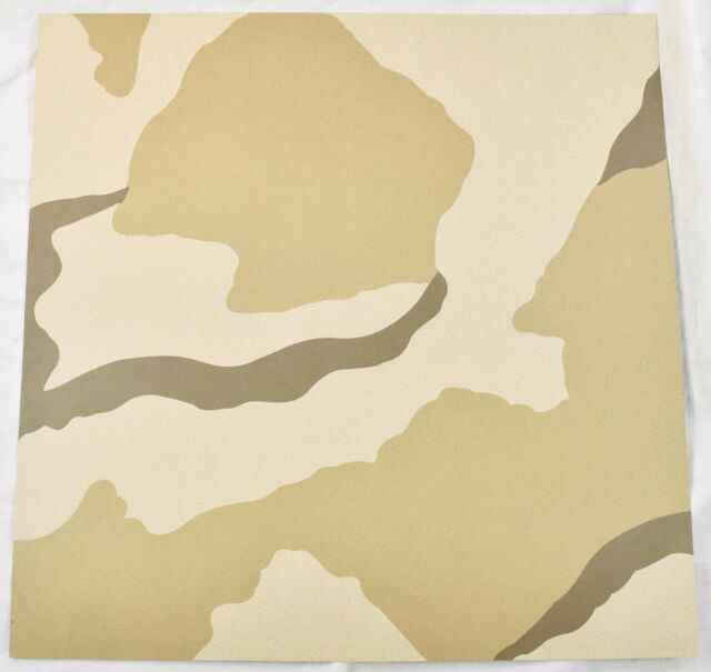12x12 Desert Camouflage Scrapbook Paper 20 Sheets Kcompany Old