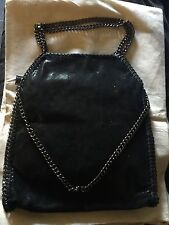 NWOT New On Trend Designer Style Handbag like Stella McCartney Falabella Black