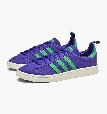 Adidas Campus Shoes Mens Purple \u0026 Green