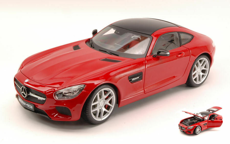 Mercedes AMG GT 2014 rosso Exclusive series 1 18 Model maisto