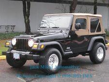 Spice 97-06 Jeep Wrangler Soft Top + FREE Interior Grab Handles