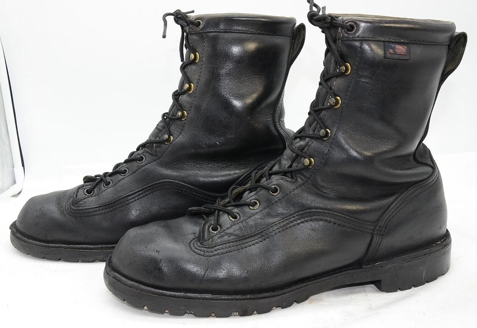 Danner Super Rain Forest 11500 Mens Sz 12 GTX Leather Hunting Work Biker Boots
