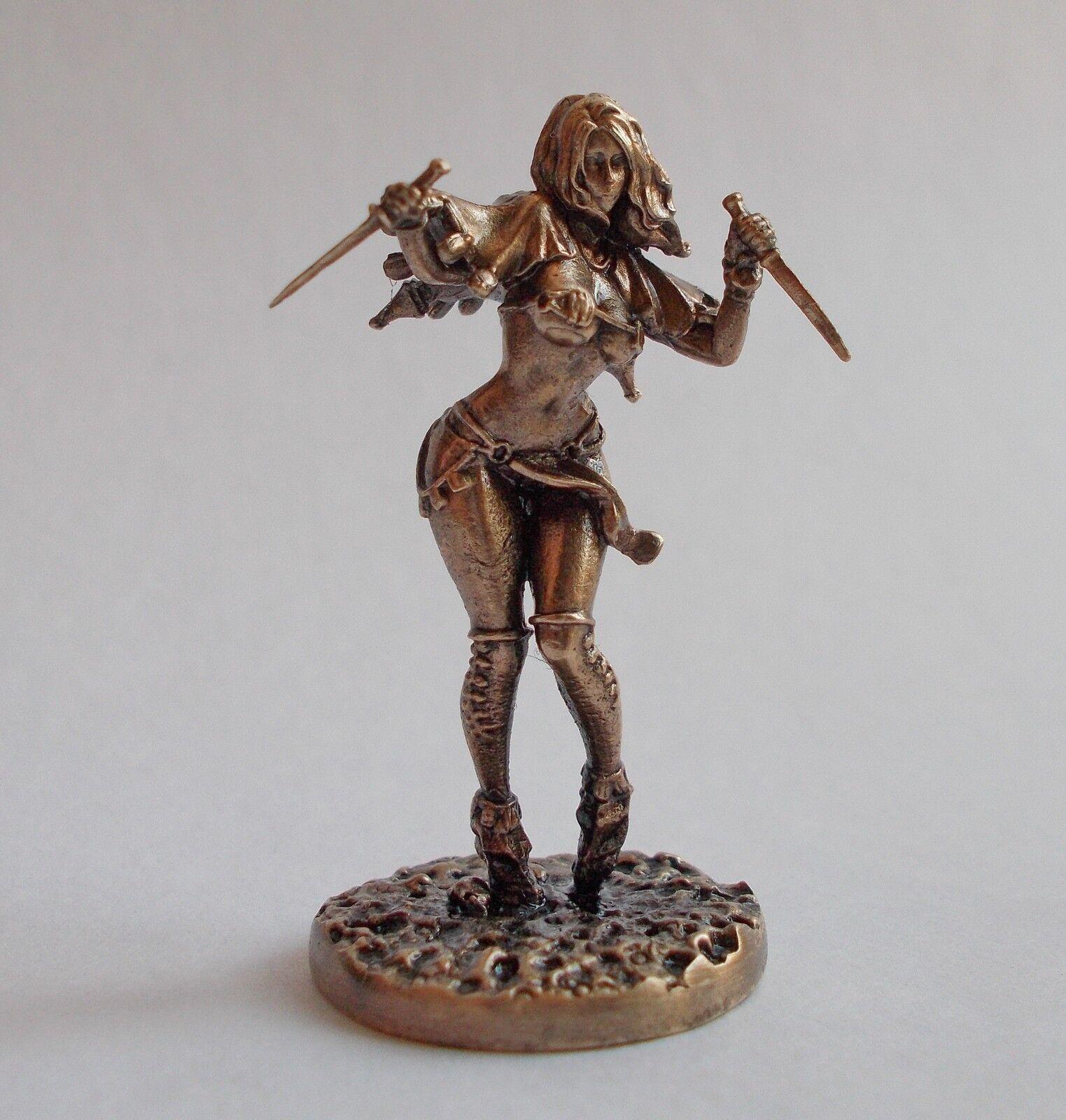 Reino de la muerte Pinup sunstalker Bailarina Bronce  DK20 de conversión (Metal)