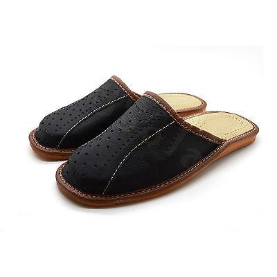 100% Original De Cuero Para Hombre Zapatillas Alta Calidad 6, 7, 8, 9, 10, 11, 12 ML1